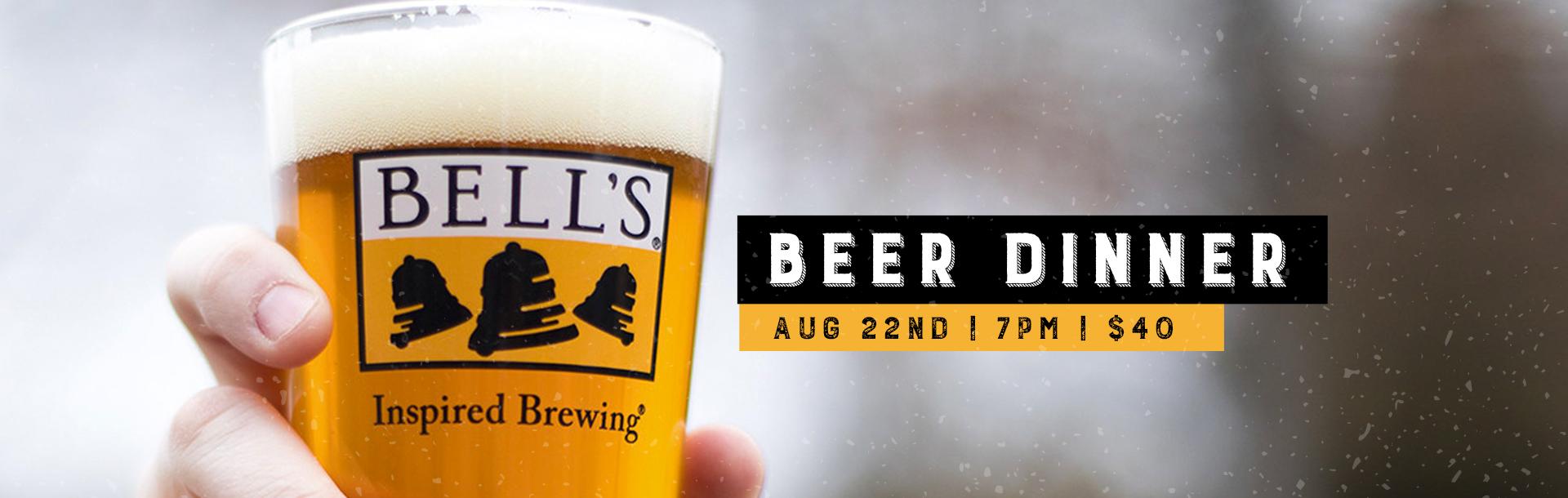 Bell's Brewery Beer Dinner